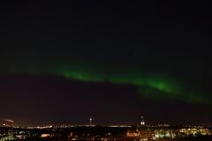 Norrsken över Stockholm 2013-03-17