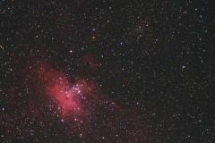 Örnnebulosan, M16 2013-09-06