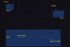 NORAD# 25173, 19336, 2sat, två kometer