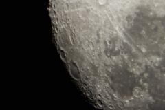 Månen i närbild 2015-09-25