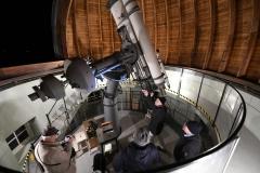 Visning av refraktor teleskopet 2019-10-28