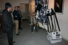 Liten teleskoputställning 2012-10-13