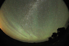 "Luftglöd ""Air glow"" 2014-08-24"