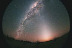 Vintergatan och Zodikalljuset 2012-06